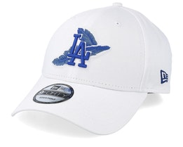 Los Angeles Dodgers Light Weight 9Forty White/Royal Adjustable - New Era