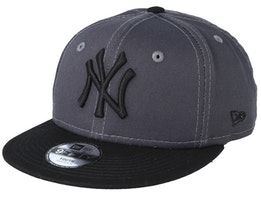 Kids New York Yankees League Essential 9Fifty Dark Grey/Black Snapback - New Era
