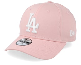 Kids Los Angeles Dodgers League Essential 9Forty Pink/White Adjustable - New Era