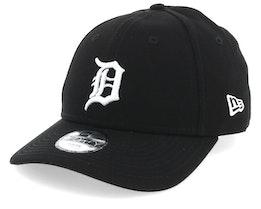 Kids Detroit Tigers League Essential 9Forty Black/White Adjustable - New Era