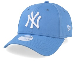 New York Yankees Womens League Essential 9Forty Sky/White Adjustable - New Era