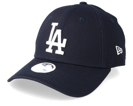 Los Angeles Dodgers Womens League Essential 9Forty Navy/White Adjustable - New Era