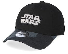 Kids Star Wars 9Forty Black/Black Camo Adjustable - New Era