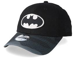 Kids Batman 9Forty Black/Black Camo Adjustable - New Era