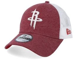 Houston Rockets Summer League 9Forty Red/White Trucker - New Era