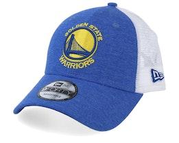 Golden State Warriors Summer League 9Forty Royal/White Trucker - New Era