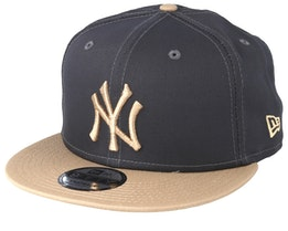 New York Yankees Essential 9Fifty Dark Grey/Camel Snapback - New Era