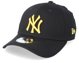New York Yankees Essential 39Thirty Black/Gold Flexfit - New Era