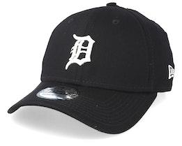 Detroit Tigers Essential 39Thirty Black/White Flexfit - New Era