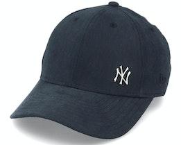 Kids New York Yankees Flawless 9Forty Black/Metal Adjustable - New Era