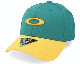 Tincan Cap Bayberry Green/Yellow Adjustable - Oakley