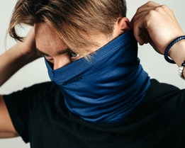 Neck Gaiter Universal Blue Face Mask - Oakley