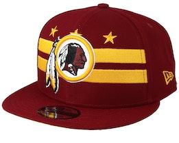 Washington Redskins 9Fifty NFL Draft 2019 Red Snapback - New Era