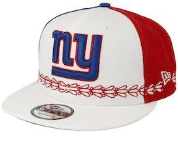 New York Giants 9Fifty NFL Draft 2019 White/Red/Blue Snapback - New Era