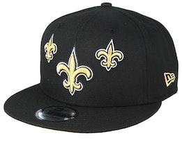 New Orleans Saints 9Fifty NFL Draft 2019 Black Snapback - New Era