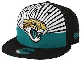 Jacksonville Jaguars 9Fifty NFL Draft 2019 White/Green/Black Snapback - New Era