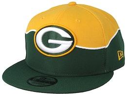 Green Bay Packers 9Fifty NFL Draft 2019 Green/Yellow Snapback - New Era