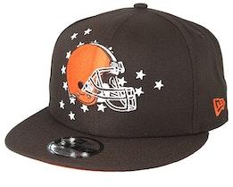 Cleveland Browns 9Fifty NFL Draft 2019 Brown/Orange Snapback - New Era