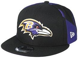 Baltimore Ravens 9Fifty NFL Draft 2019 Black Snapback - New Era