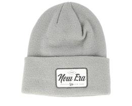 Wide Patch Dark Grey Cuff - New Era