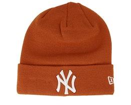 New York Yankees Essential Rust/White Cuff - New Era