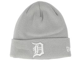 Detroit Tigers Knit Grey Cuff - New Era