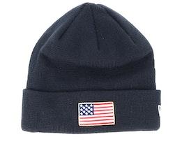 Flag Pack Knit Navy Cuff - New Era