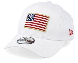 Flag Pack 9Forty White Adjustable - New Era