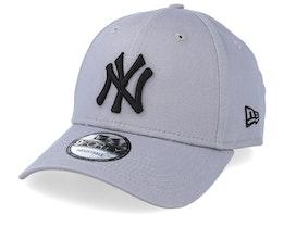 New York Yankees League Essential 9Forty Grey/Black Adjustable - New Era