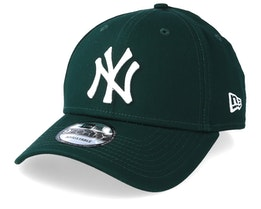 New York Yankees League Essential 9Forty Dark Green/White Adjustable - New Era