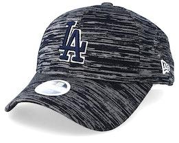 Los Angeles Dodgers Women's Engineered Fit 9Forty Grey/Black Adjustable - New Era