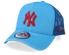 New York Yankees Washed Blue/Red Trucker - New Era