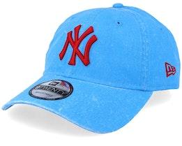 New York Yankees 9Twenty Washed Blue/Red Adjustable - New Era