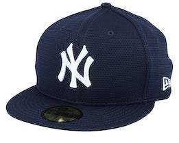 New York Yankees Training Mesh 59Fifty Navy Fitted - New Era