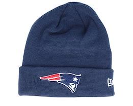 New England Patriots Knit Navy Cuff - New Era