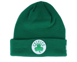 Boston Celtics Knit Green Cuff - New Era