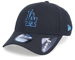Los Angeles Dodgers Stretch Tech Pop 39Thirty Black Flexfit - New Era