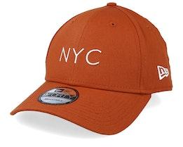 NYC Seasonal 9Forty Rust Adjustable - New Era