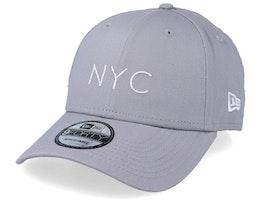 NYC Seasonal 9Forty Grey Adjustable - New Era