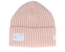 Watch Knit Pink Cuff - New Era