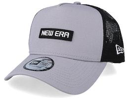 Tech Trucker Grey/Black Trucker - New Era