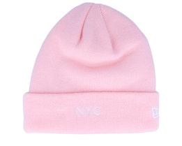 NYC Knit Pink Cuff - New Era
