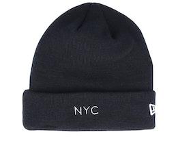 NYC Knit Black Cuff - New Era