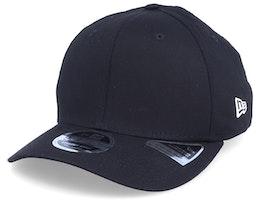 Essential Stretch Snap Black Adjustable - New Era