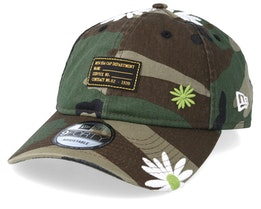Military Flower 9Forty Green Camo Adjustable - New Era