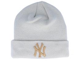New York Yankees League Essential Stone/Wheat Cuff - New Era