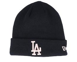 Los Angeles Dodgers League Essential Black/Pink Cuff - New Era