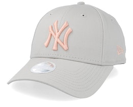 New York Yankees Women's League Essential 9Forty Beige/Pink Adjustable - New Era