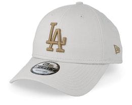 LA Dodgers League Essential 9Forty Light Beige/Wheat Adjustable - New Era
