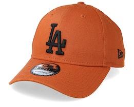 LA Dodgers League Essential 9Forty Rust/Black Adjustable - New Era